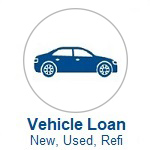 Vehicle Loan Icon, Click to Apply or Call Wanigas For Help to Apply for a Vehicle Loan