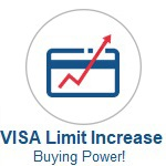 Visa Limit Increase Icon. Click to Apply or Call Wanigas CU for help applying for a Visa Limit Increase